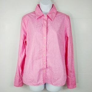 Tommy Hilfiger Embroided Button Down Shirt